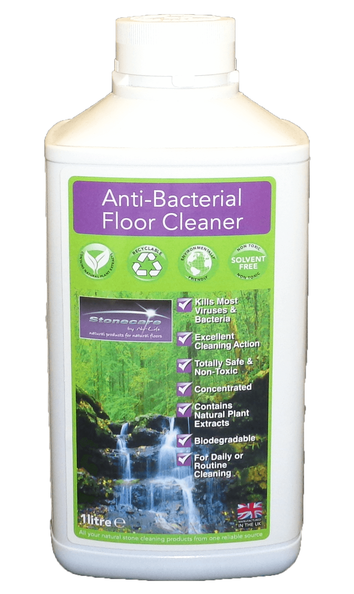 Anti bacterial floor cleaner sheen for Salmonella swimming pool