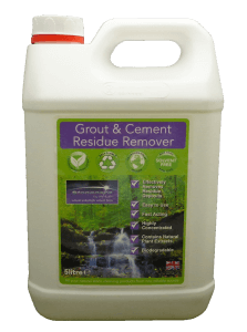 Grout & Cement Residue Remover