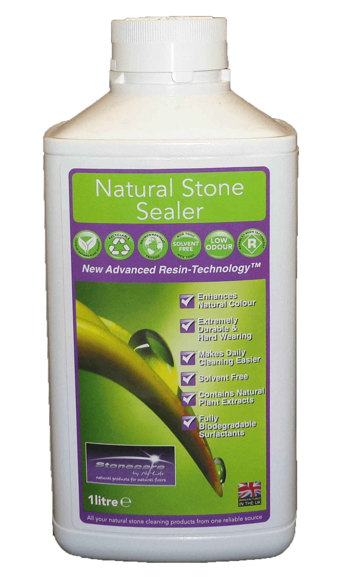 Natural Stone Sealer 1 Ltr 187 Sheen Complete Floor Amp Fabric