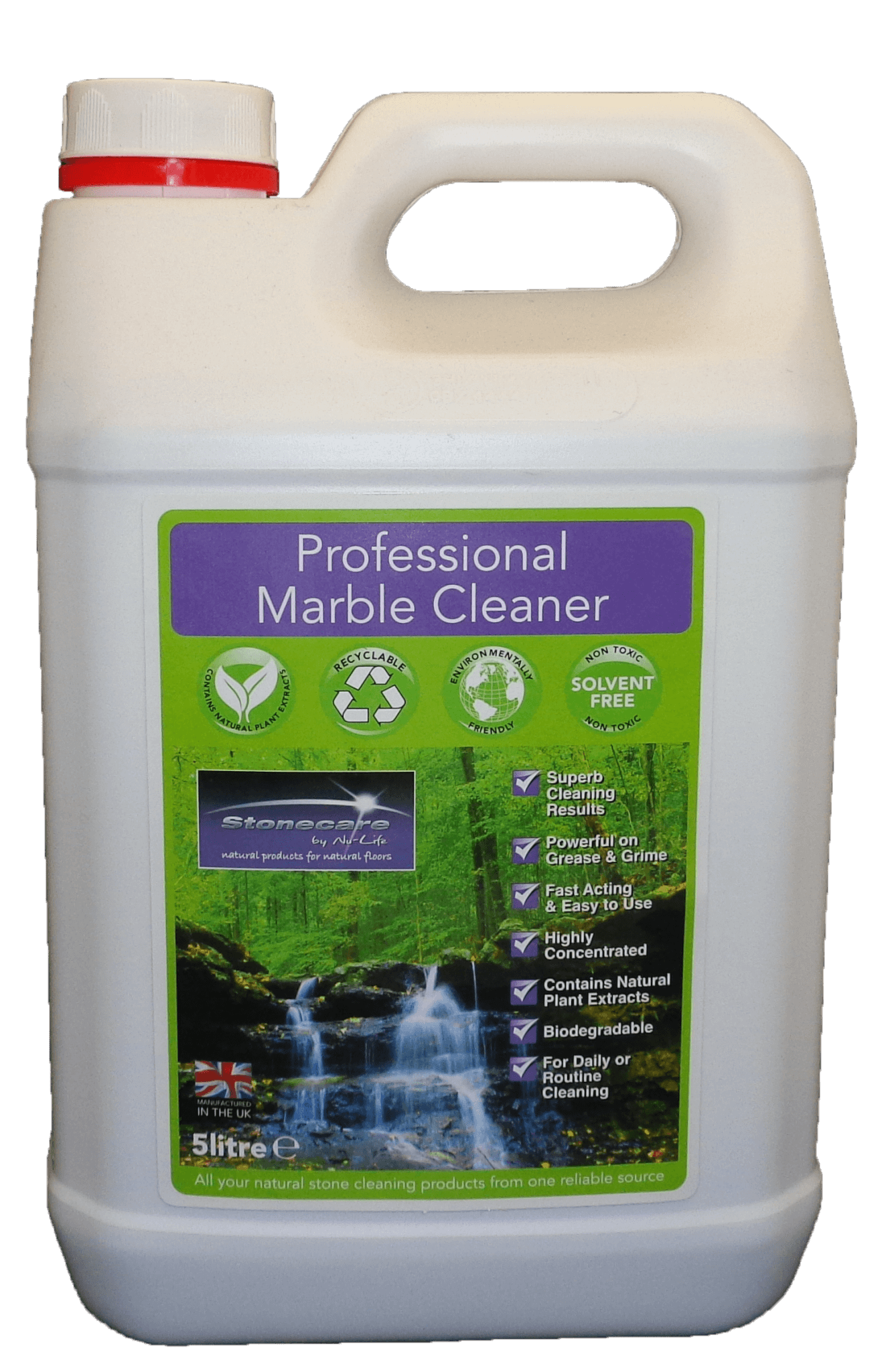Professional Marble Cleaner 5 Ltr 187 Sheen