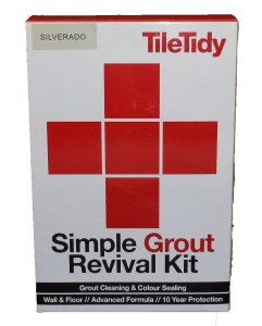 Tile Tidy Grout Revival Kit Silverado