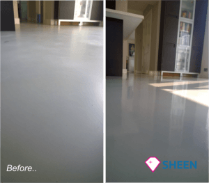 marmoleum floor cleaning and sealing