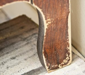 damaged furniture leg