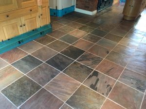 slate floor cleaning and sealing