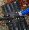 Water claw rug extraction tool